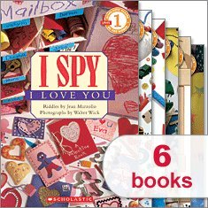 (I Spy Readers Collection (6 Books) (Scholastic Reader Level 1, A Dinosaur's Eye; Funny Teeth; A Scary Monster; A Penguin; A Balloon; I Love You))