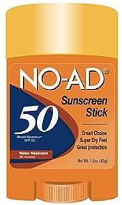 NO-AD SPF 50 Sport Stick
