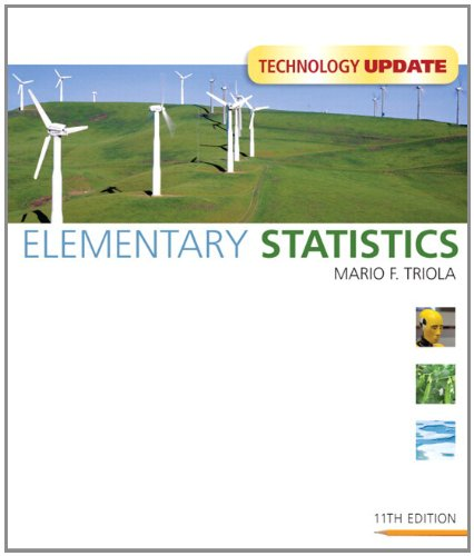 Elementary Statistics Technology Update plus MyMathLab/MyStatLab Student Access Code Card (11th Edition)