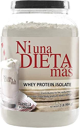 Ni Una Dieta Mas Reduce Abdominal Fat With A Protein To Stop Food Cravings For Kids And Adults Vanilla Flavored Health Personal Care