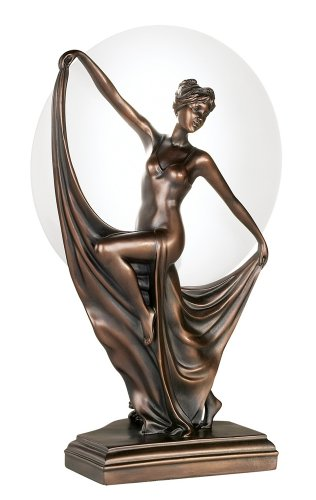 Art Deco Dancer Accent Table Lamp