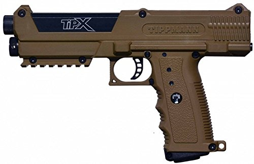 Tippmann TPX TiPX Paintball Pistol Marker with Case and 2 Cl
