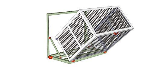 Property Armor Mini Split Wall Bracket/Cage Combo