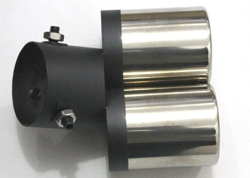Merry Tools 99020519 Doppel Auspuffrohr Auto Auspuff Spitzen