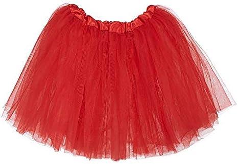 Ksnrang Falda Tutú Tutu Clásica de Ballet para Niñas de 2 a 8 años ...