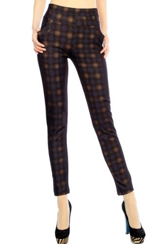 Simplicity Women Stretchy Leggings Tights