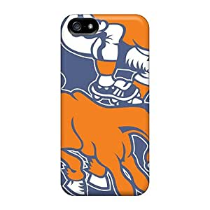 5/5s Scratch-proof Protection Case Cover For Apple Iphone/ Hot Denver Broncos Phone Case