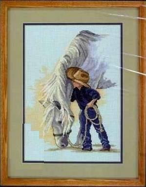 Horse Cross Stitch - 8