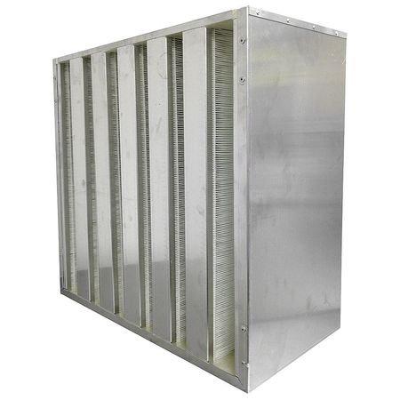 Microfiber HEPA Air Filter, 24x11-1/2x24