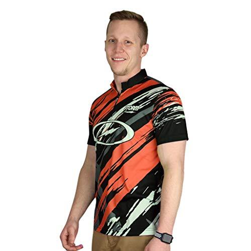 Storm Mens Grunge Polo Jersey (Large, Orange) ()