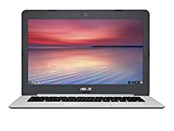 ASUS Chromebook C301SA-DS02 13.3 Inch (Intel Quad-Core Celeron, 4GB, 16GB eMMC, Metallic Grey)