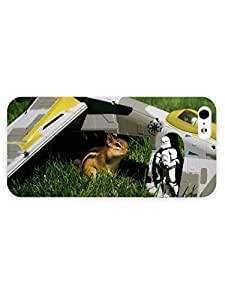 3d Full Wrap Case for iPhone 5/5s Animal Chipmunk And Stormtrooper by ruishername