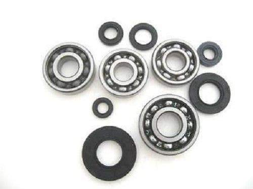 Engine Bottom End Bearings and Seals Kit for Honda Elsinore - 62-0046 - Boss Bearing ()