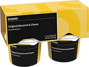 Amazon Com Amazon Brand Solimo Macaroni Amp Cheese Cups