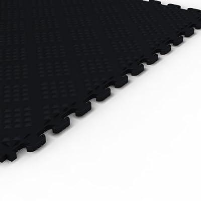 Norsk Raised Diamond Multi-Purpose PVC Flooring, 6-Pack