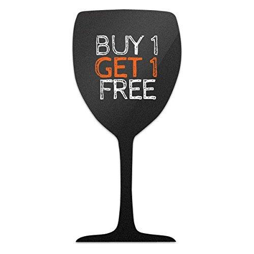 Copa de vino con forma de pantalla Pizarra con tiza blanca ...