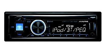 Alpine Cde-143bt Advanced Bluetooth Cd Receiver With Alpine Sps-610 Sps-619 6.5'' & 6.9'' Front & Rear Speaker System 1