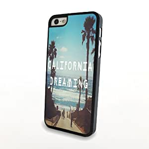 Gemswedding Painted Romantic Poem Hard Back Case Cover Skin For Apple iPhone 5C WHD763 (2 California Beach)