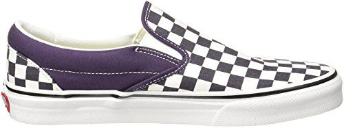 Classic Vans Purple Checkerboard Slip Skate Checkerboard Shoe Nightshade Unisex On 6wUw75