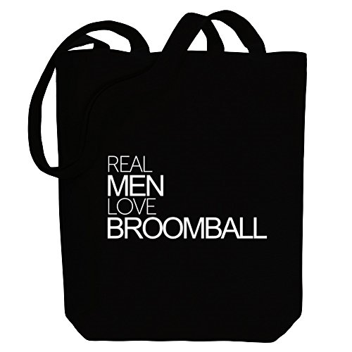 Bag Idakoos Broomball Tote Idakoos men Real Real love Sports Canvas 5UapnzP