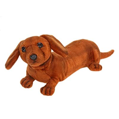 Hansa Plush - 12 Dachshund Pupply from Hansa
