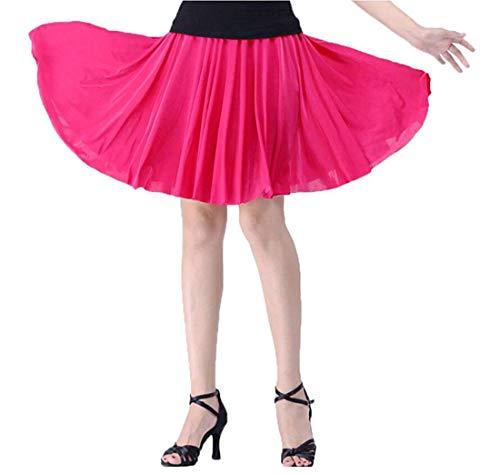 Con Size Girls Corta Small Balza Uomo Home Bassa Red color Pieghe A Dress Gonna Rose Alta Vita Da PaPrxwqfg