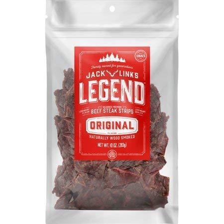 Product Of Jack Link Legend , Beef Steak Strip Original, Count 1 - Jerkys / Grab Varieties & Flavors