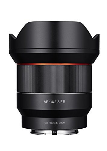 Price comparison product image Samyang SYIO14AF-E 14mm F2.8 Full Frame Auto Focus Lens for Sony E-Mount,  Black