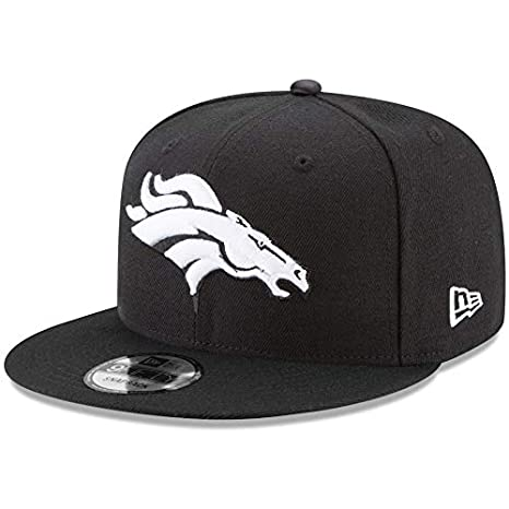 Image Unavailable. Image not available for. Color  New Era Denver Broncos  Hat NFL Black White 9FIFTY ... 89a90e711