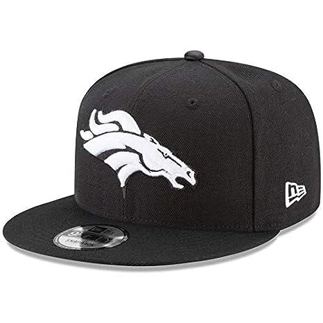 Image Unavailable. Image not available for. Color  New Era Denver Broncos  Hat NFL Black ... d25ae821645