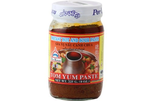Tom Yum Paste (Instant Hot and Soup Paste) - 8oz (Pack of 3)