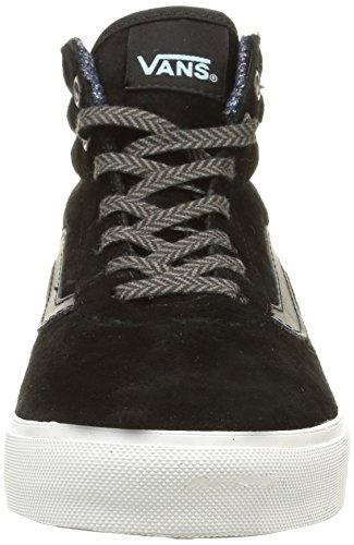 Vans Milton Damen Sneakers Schwarz (mte/black/blanc De Blanc)