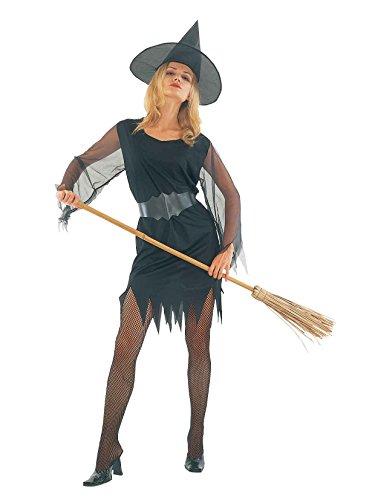Ladies Halloween Sexy Witch Costume Onesize US 4-10