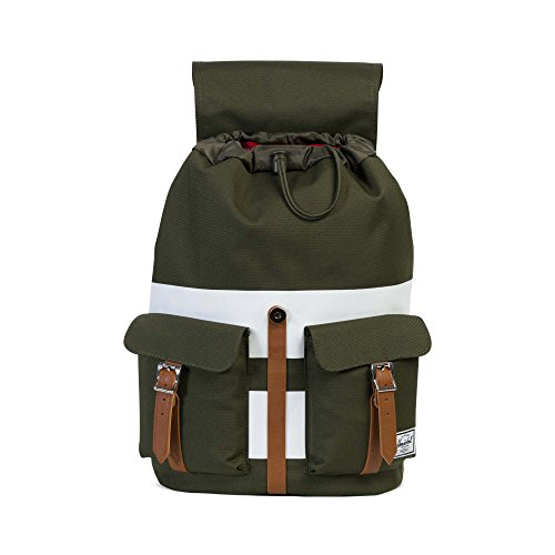 Synthetic Leather Synthetic X Small Tan Dawson White Stripe Tan Leather Forest Herschel Rugby Night Peacoat w6qX1Oa