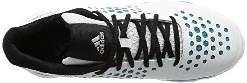 Adidas Volleyballschuhe Volley Response Boost, Damen, weiß/grau