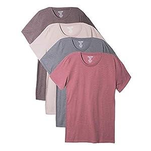 Best Epic Trends 41RUofSA%2B4L._SS300_ Bolter 4 Pack Men's Everyday Cotton Blend Short Sleeve T-Shirt