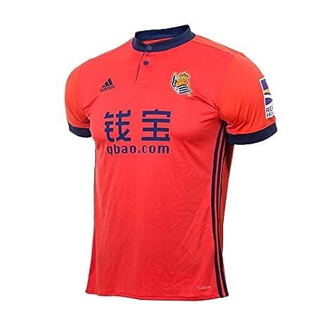 Adidas Real Sociedad Camiseta de Equipación, Niños, Rojo (rojbri), 116-5/6 años: Amazon.es: Deportes y aire libre