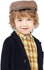 accsa Kids Boys Cotton Flat Cap Toddler Newsboy Caps Beret Hat Ivy Gatsby Cap Scally Cap