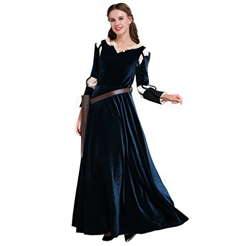 CosplayDiy Women's Deluxe Halloween Princess Cosplay Costume Dress M -