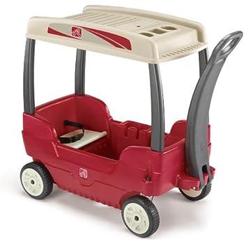 Amazon Com Step2 Canopy Wagon Toys Amp Games