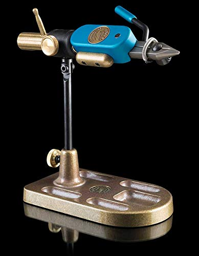 Regal Stainless Steel Revolution and Bronze Pocket Base Tying Vise (Stainless Regal)