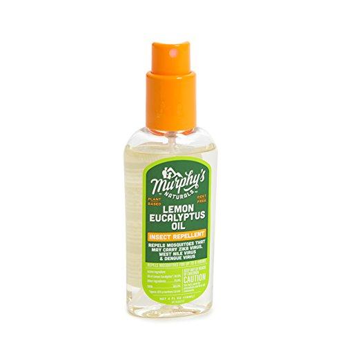 Murphy's Naturals Lemon Eucalyptus Natural Insect Repellent 4-Ounce Pump Spray (2 Pack) by Murphy's Naturals