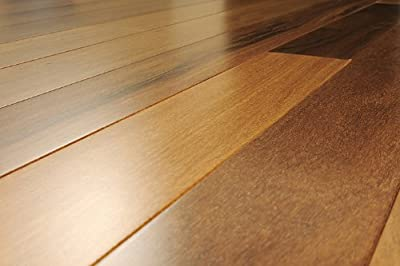 5 inch Greenland Solid Hardwood Brazilian Teak (Cumura) Natural Flooring (6 inch Sample)