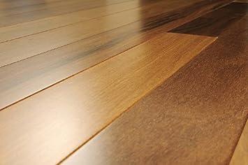 5 inch Solid Hardwood Pacific Teak Natural Flooring 6 inch Sample