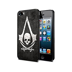 Ac07 Silicone Cover Case Iphone 5/5s Assassin's Creed 4 Game