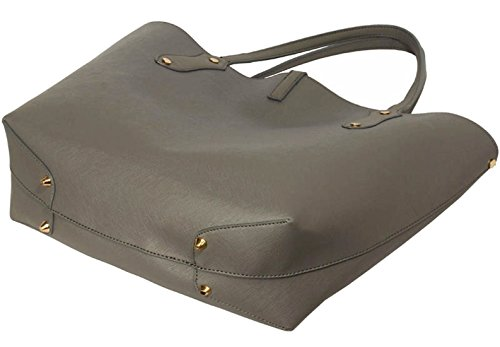 DELIVERY Shoulder UK Gorgeous 50 Large SAVE Handbag Grey FREE AqxYSEw