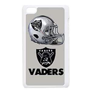 Ipod Touch 4 Phone Cases NFL Oakland Raiders DSTR6150073
