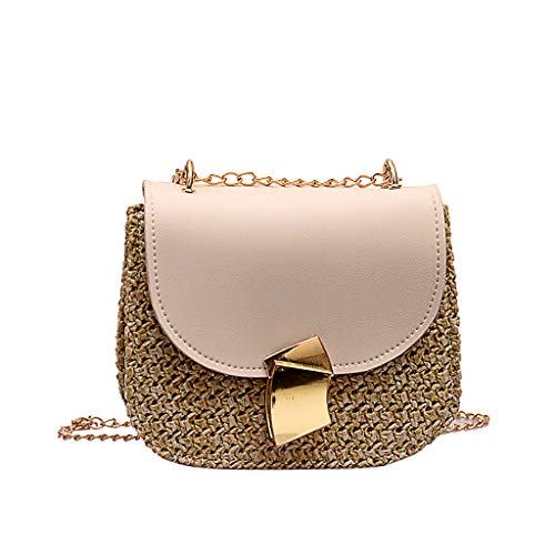 Heshikeji Clearance Women's Handbag Crossbody BagsShaped Lock Fashion Wild Satchel Messenger Bag Shoulder Bag