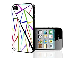 Colorful Abstract Pattern Hard Snap on Phone Case (iPhone 4/4s)