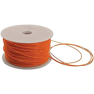 FOXSMART 329674 PLA 3D Printer Filament 1kg Spool - 1.75mm - Orange